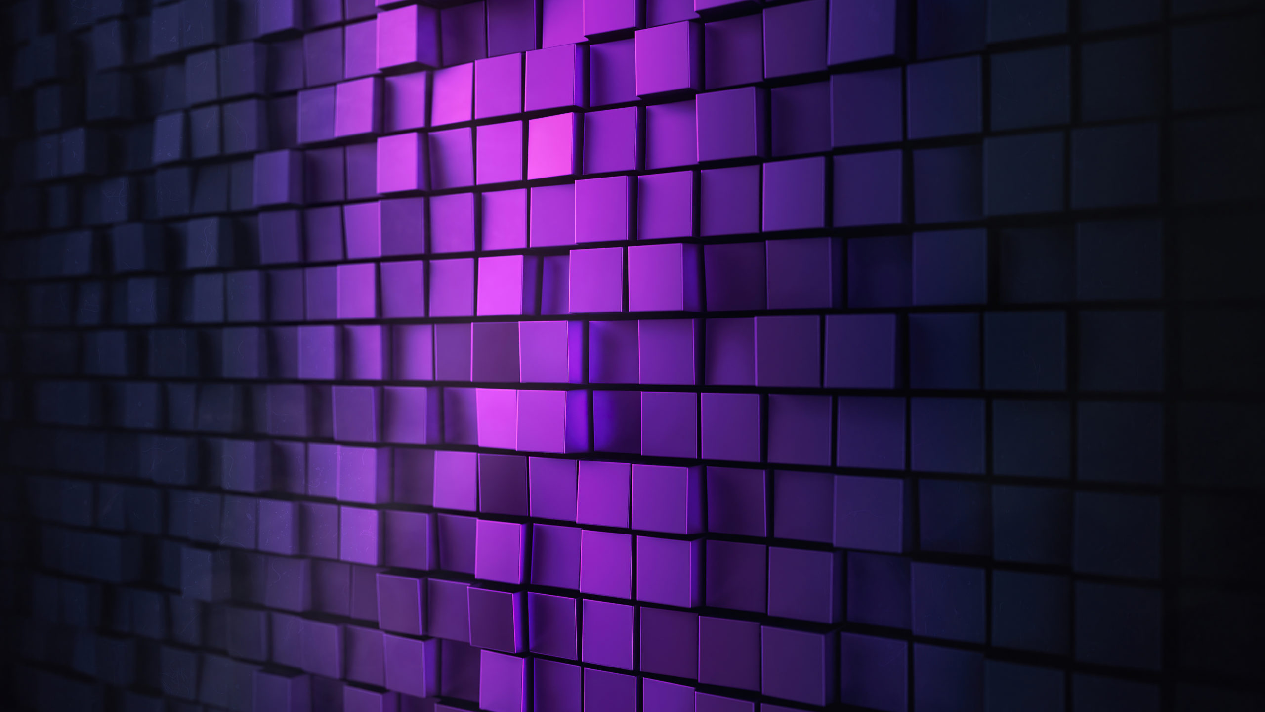 3D PURPLE WALL ABSTRACT 4K PM WALLPAPER