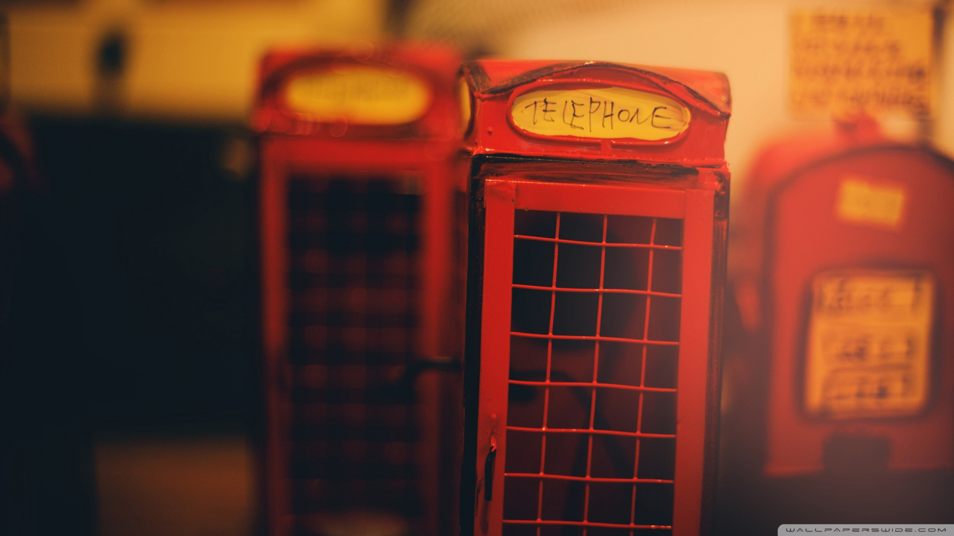 A Little Telephone Booth In France Wallpaper 1920×1080