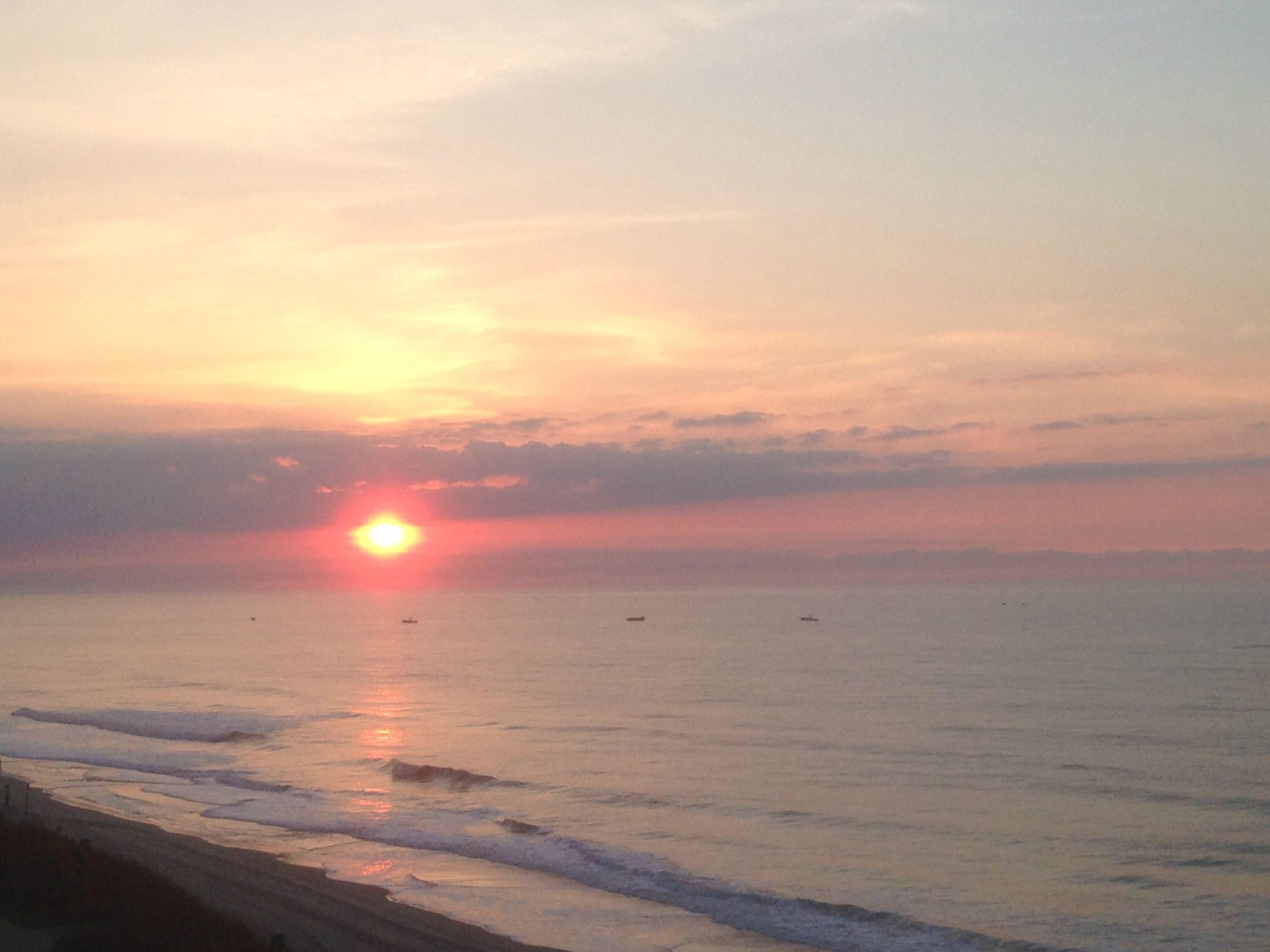 Download An Exceptional View Of Sundown At Myrtle Beach From My 5th Floor Condo