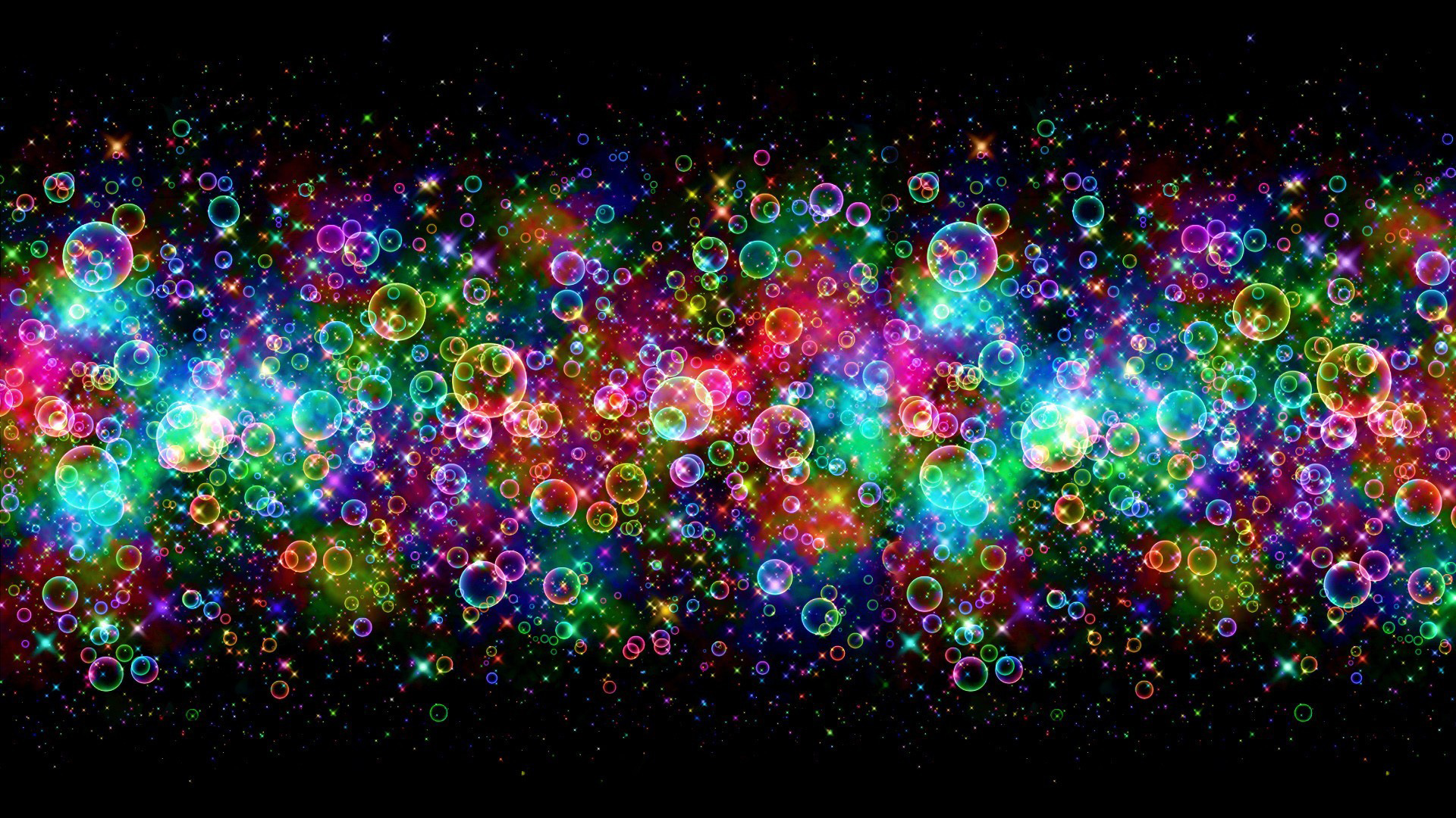 Abstract-02/Colorful Bubbles HD.jpg Desktop