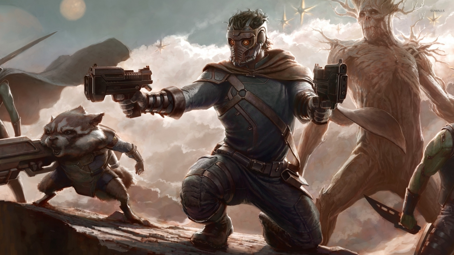 Guardians Of The Galaxy Defending The Galaxy 47706 1920×1080 Wallpaper