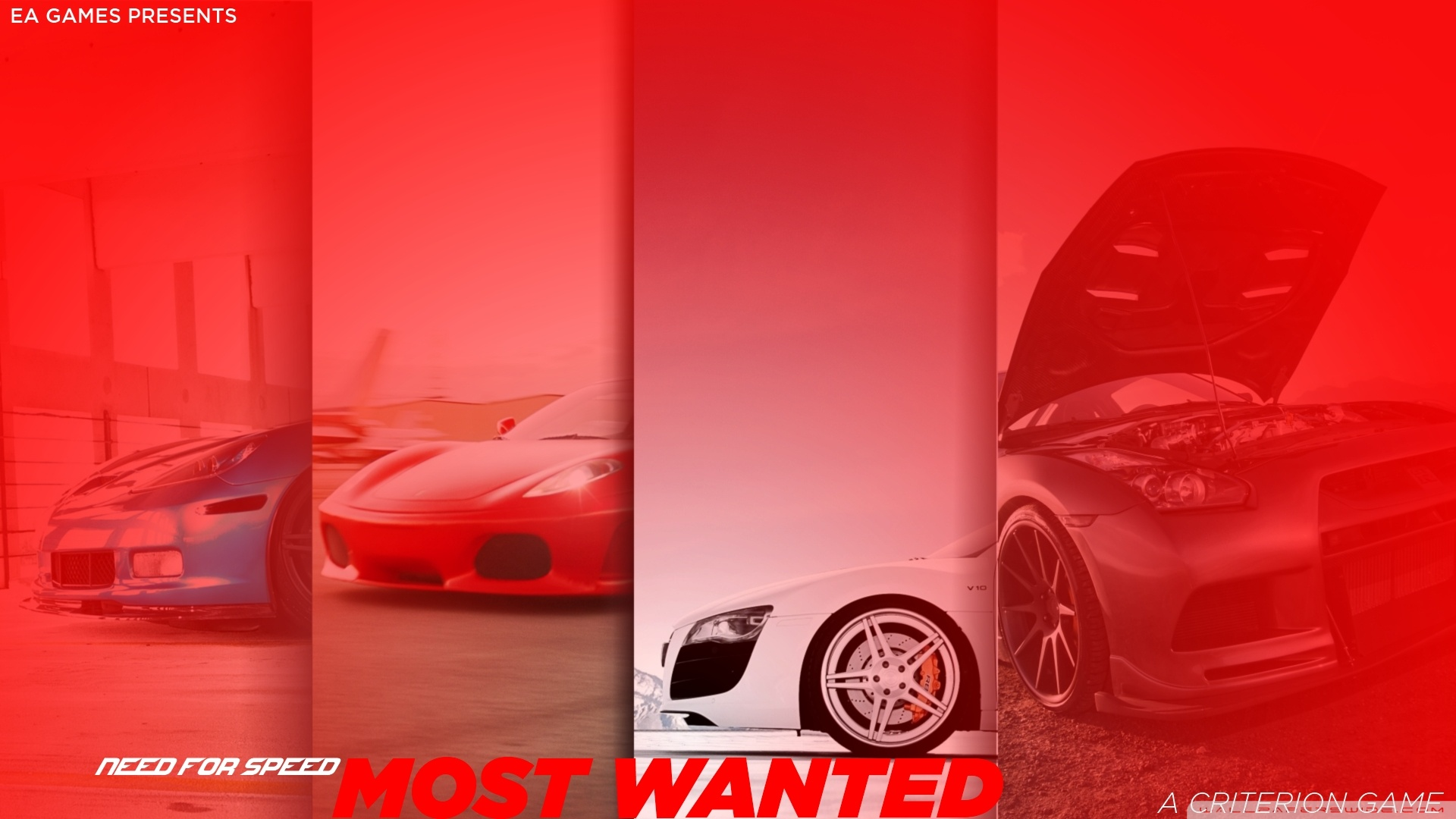 Need For Speed Most Wanted 4 Wallpaper 1920×1080