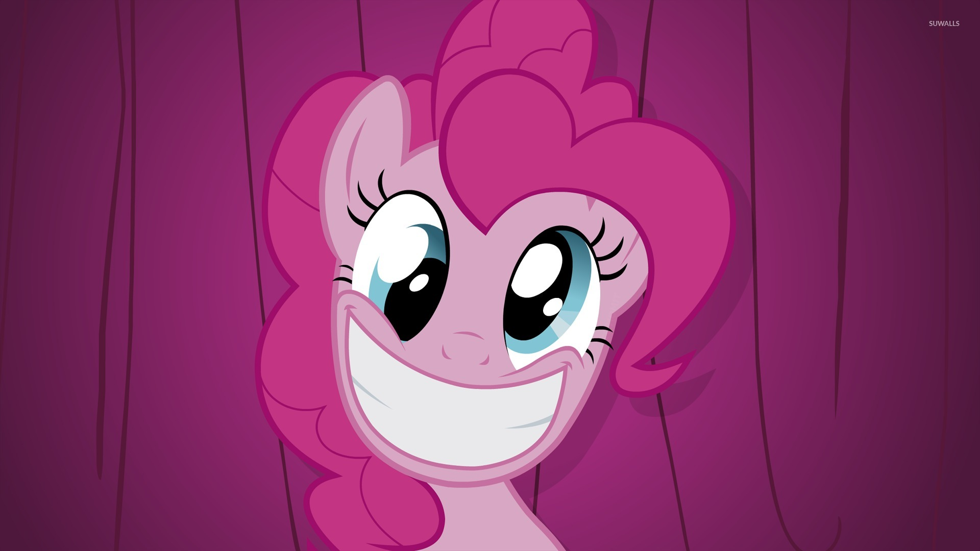 Pinkie Pie Smiling Close Up My Little Pony 51992 1920×1080 Wallpaper