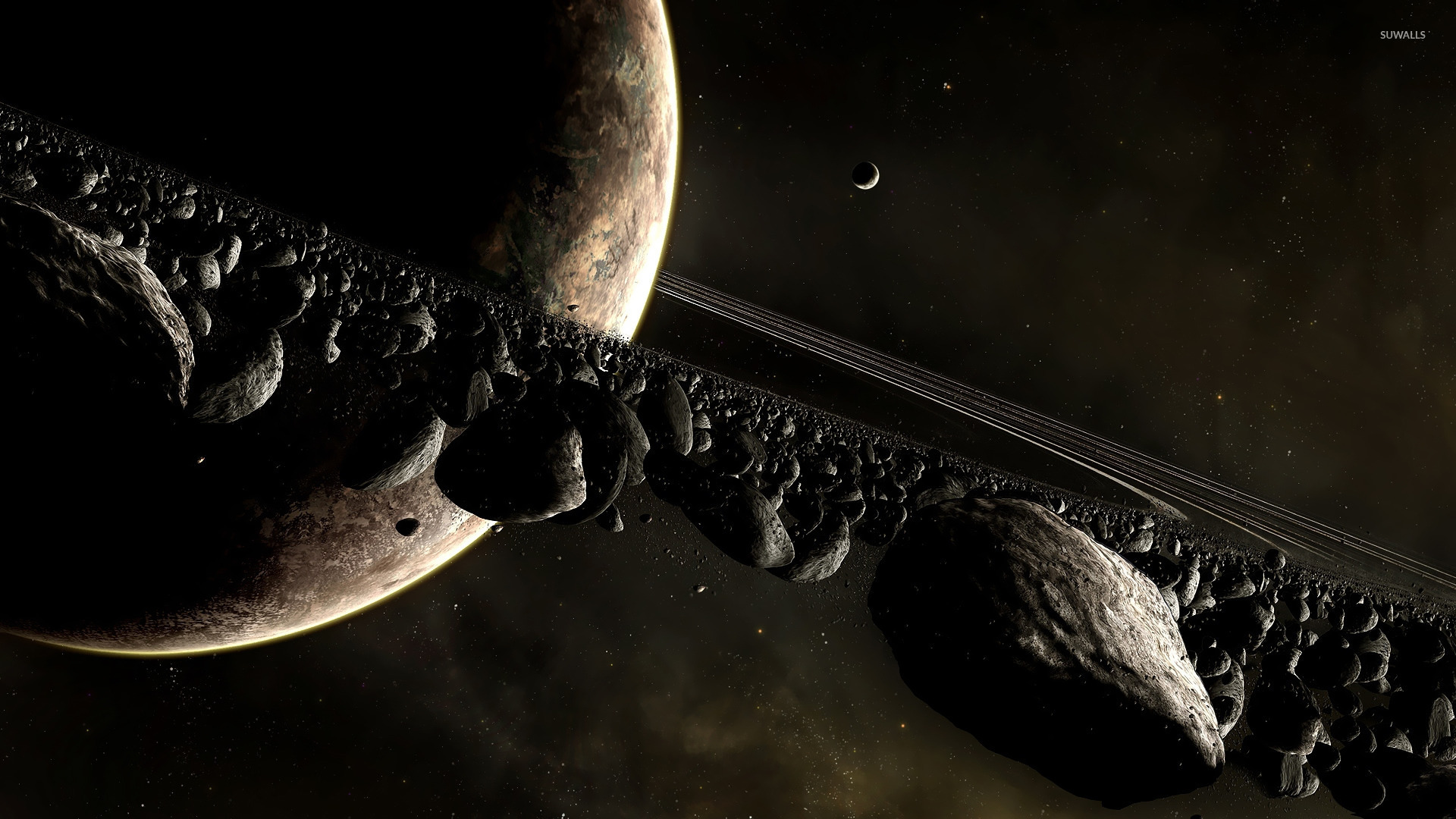 Planets-and-asteroids-1920×1080-Wallpaper