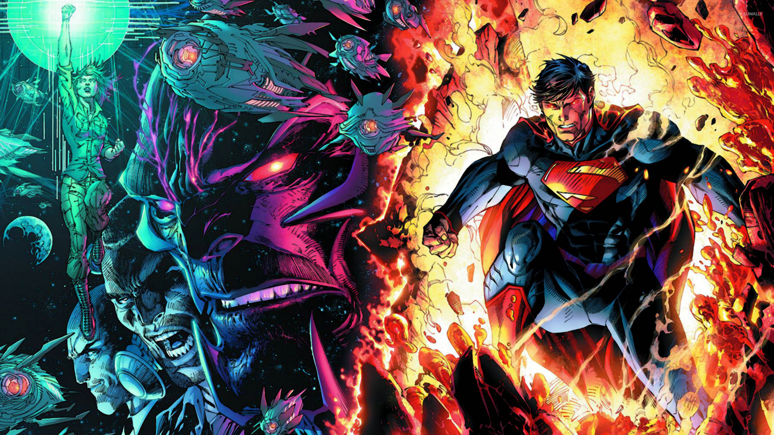 Superman Unchained 31891 2560×1440 Wallpaper