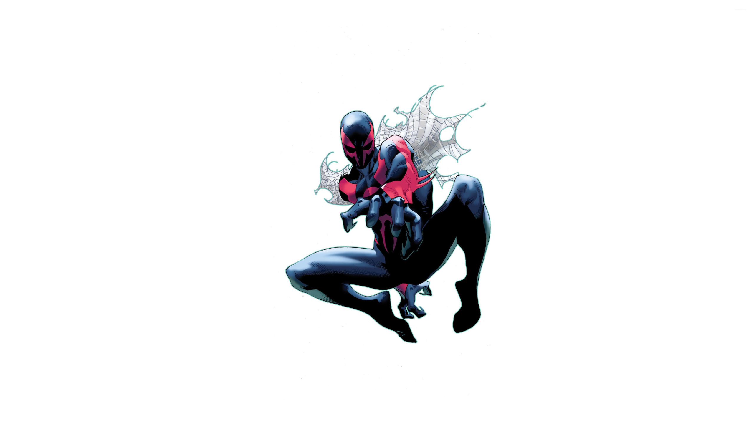 The Superior Spider Man With A Spider Web 50401 3840×2160 Wallpaper