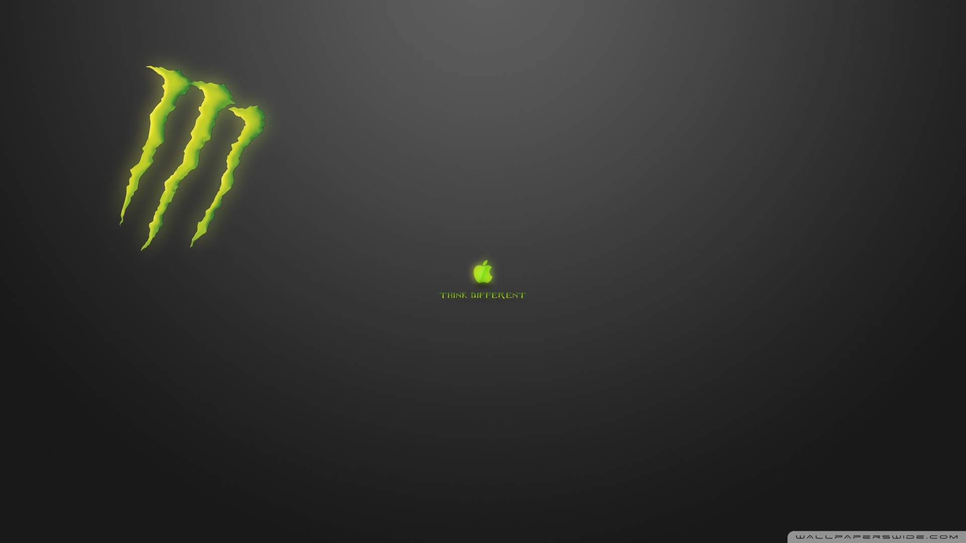 Think Different Monster Wallpaper 1920×1080