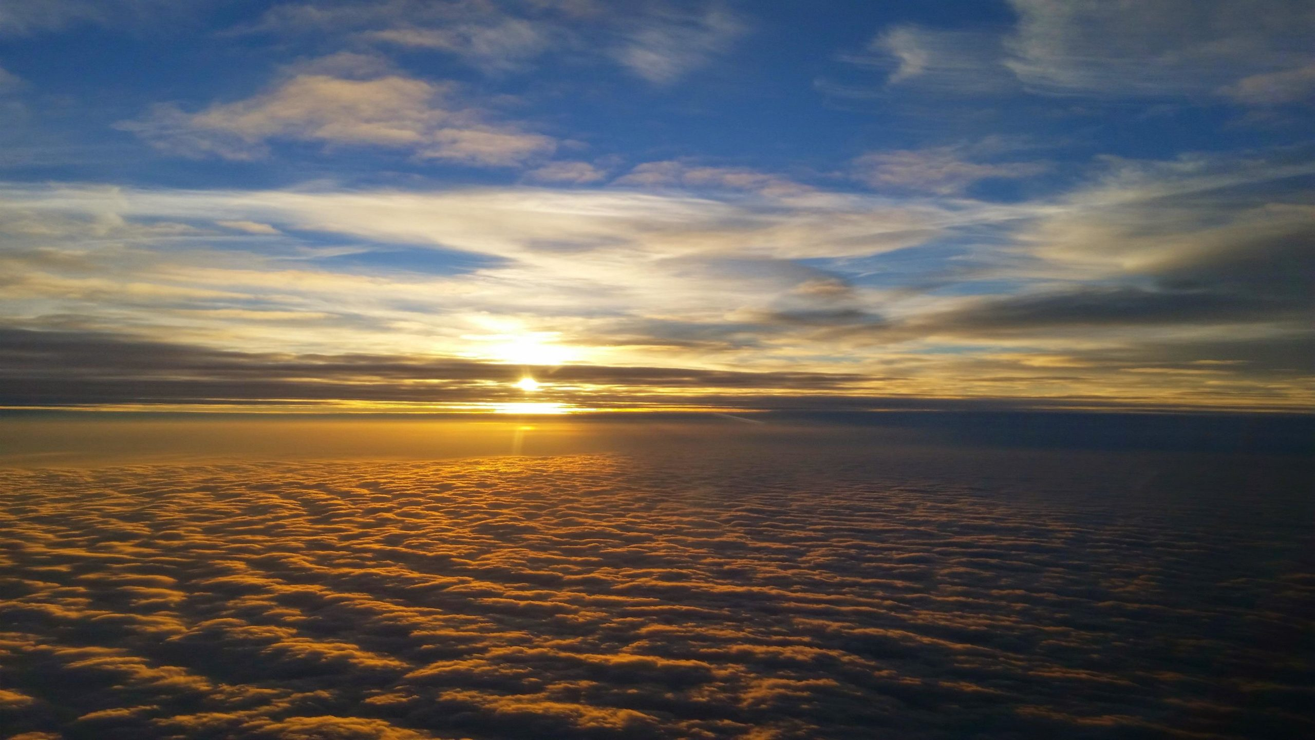 Download Another Sunset From Above Wallpaper