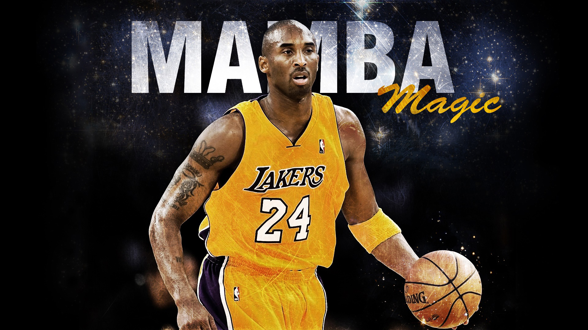 Download Kobe Bryant In Lakers Yellow Sports Background Hd Lakers