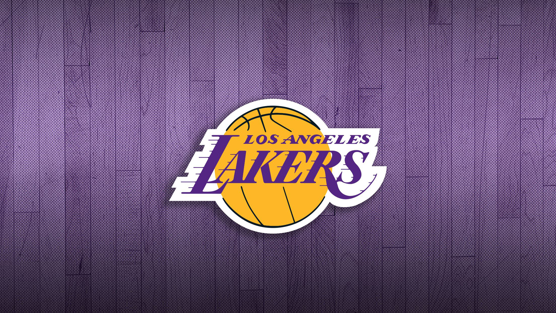 Download Lakers Logo In Light Amethyst Background Basketball Hd Sports