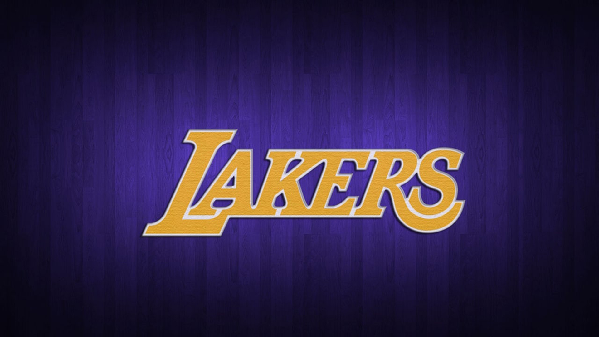 Download Lakers Yellow Word In Purple Background Hd Lakers