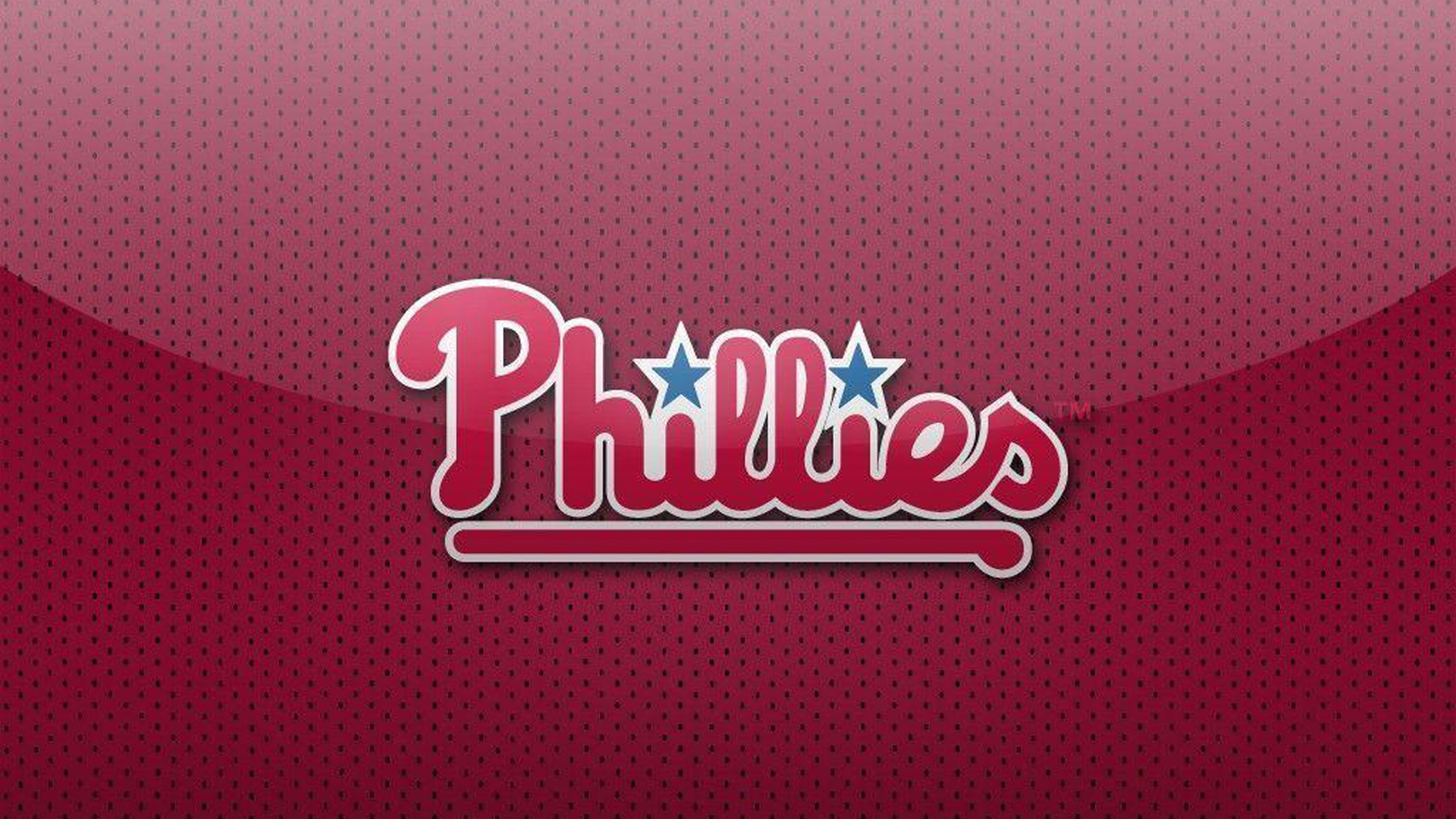Download Phillies With Background Of Pink And Black Dots Hd Phillies