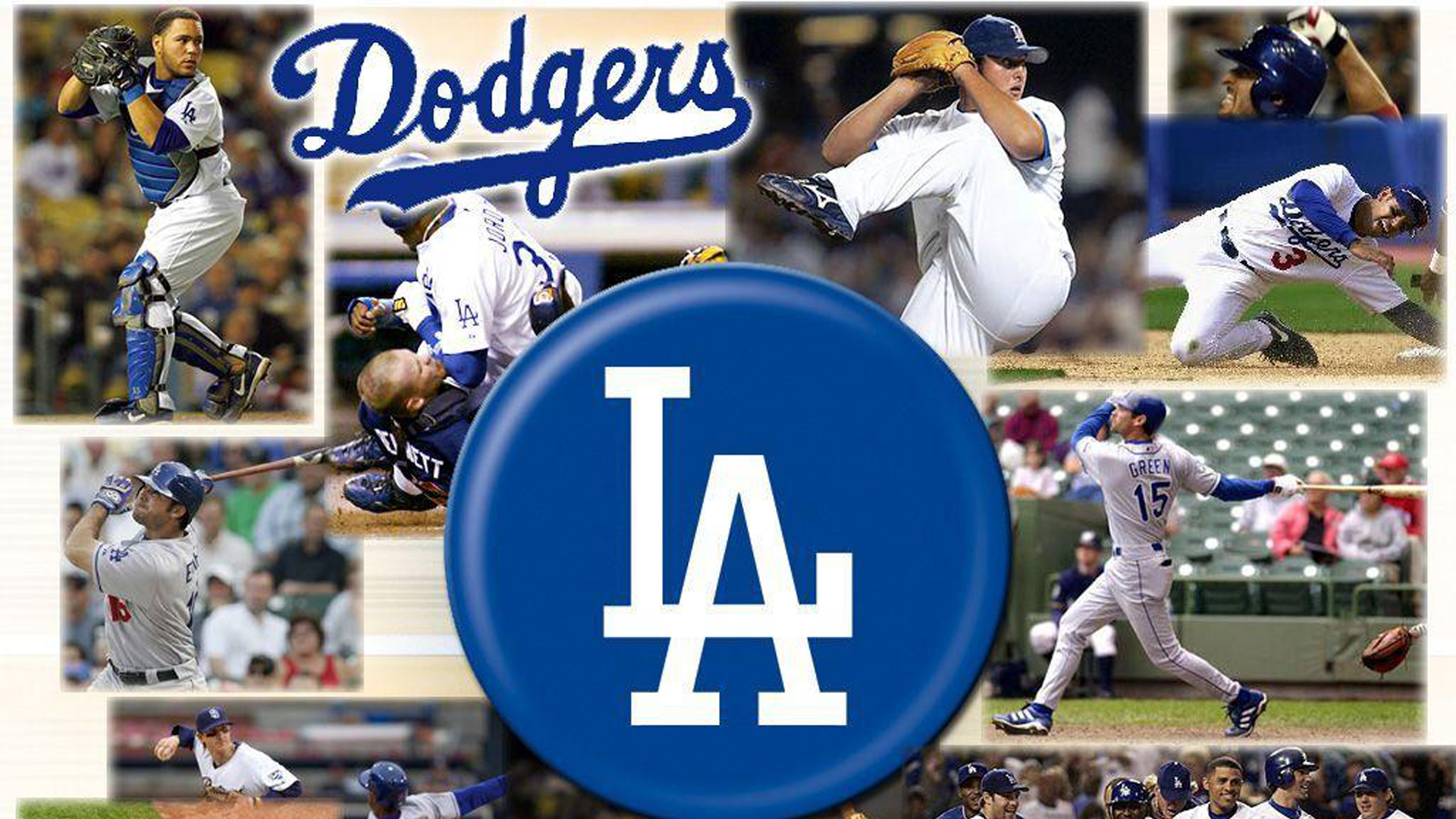 Download Players Of Los Angeles Dodgers Hd Dodgers
