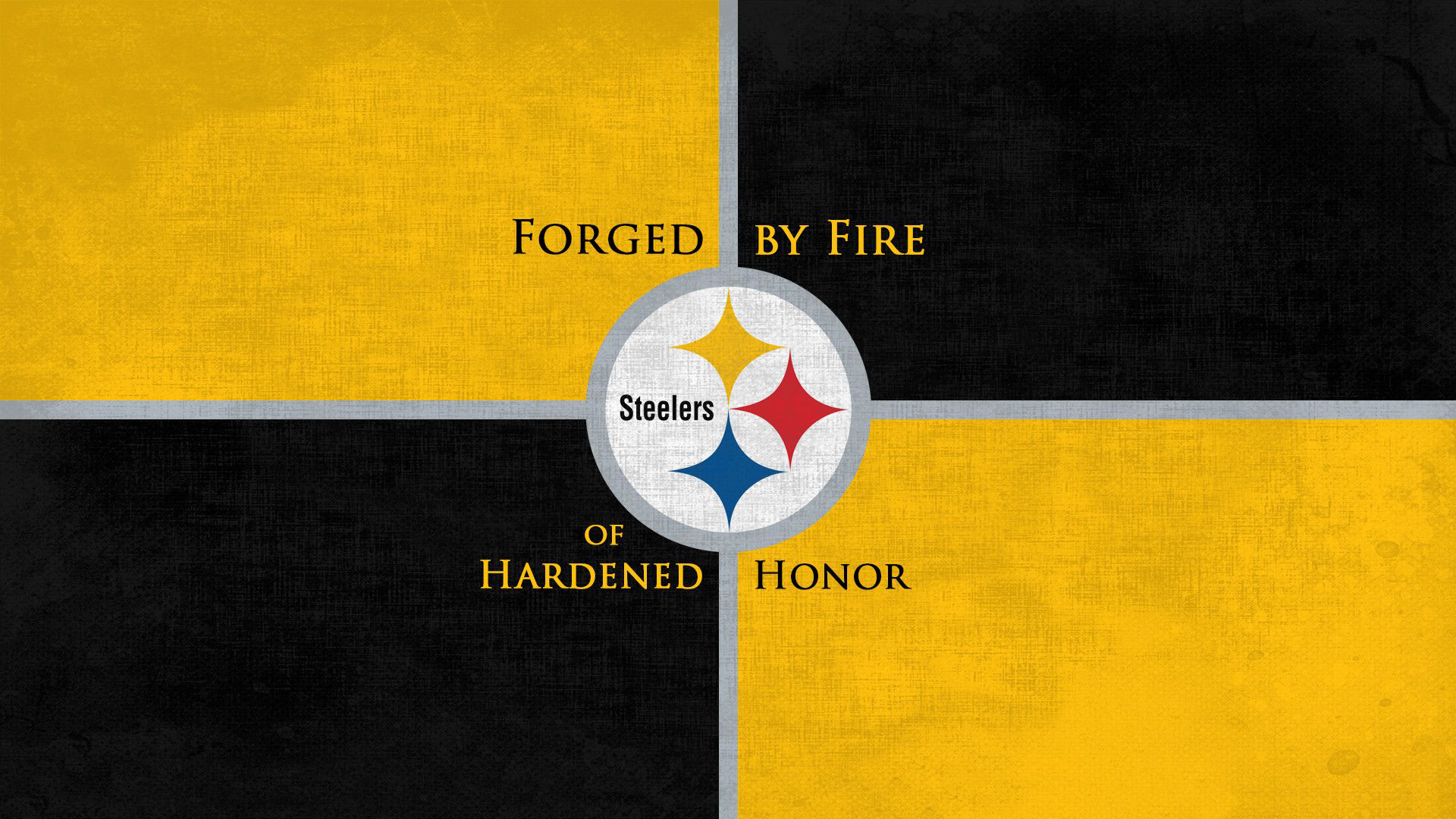 Download Steelers With Black And Yellow Background Hd Steelers
